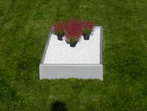 provisorische Grabeinfassung, Kunststoff, recyclebar, wiederverwendbar