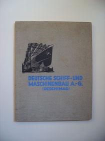 1930 ausgegeben von der Deschimag