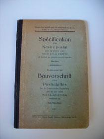 Von der Deschimag 1929 ausgegeben