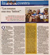 La Vanguardia 12-03-2007