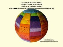 Heißluftballonball
