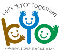 "Let's""KYO""Together logo"