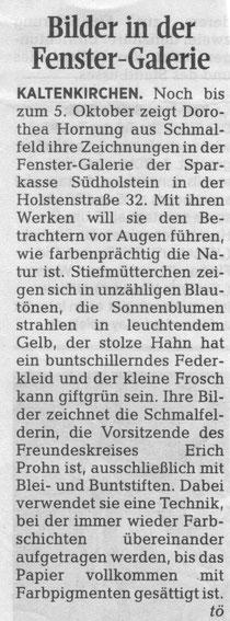 Segeberger Zeitung 17.08.2015