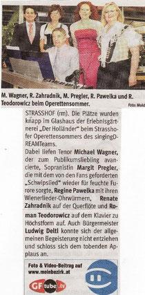 Strasshofer Operettensommer 2011