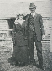George and Marianne Perceval, c. 1900