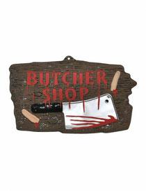 Wanddecoratie Butcher Shop € 2,25 47 cm