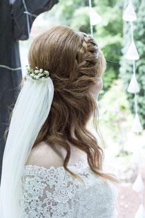 mobiler Brautservice ,Damen Haarschnitt