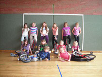 Einrad-AG Klasse 3,4