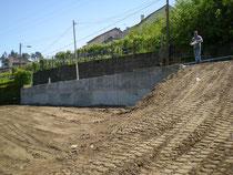 Muro de contención de tierras