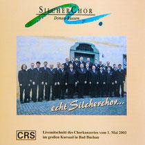 CD-Cover echt Silcherchor