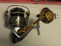 Shimano Stella 5000SW w/ 40mm Knob