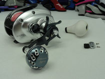 Click to enlarge - Shimano TranX 500 PG w/ 40mm Reel Knob