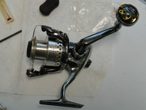 Click to enlarge - Shimano Stella 2000 w/ 30mm Knob