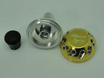 Click to enlarge - 40mm Reel Knob Upgrade Step 3