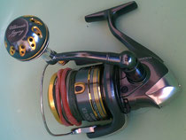 Click to enlarge - Shimano Twinpower SW 6000 w/ 40mm Reel Knob