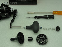 Click to enlarge - Reel Knob Upgrade Step 2