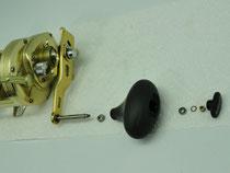 Click to enlarge - 40mm Reel Knob Upgrade Step 4