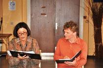 Lecture en duo en compagnie de Bambina Liberatore dans le cadre de la Fureur de lire avec le Plaisir du Texte