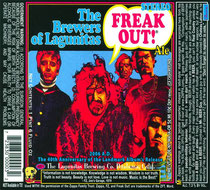 "Frank Zappa ""Freak Out!"" Label"