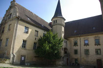 Ansicht Schlosshof im April 2011
