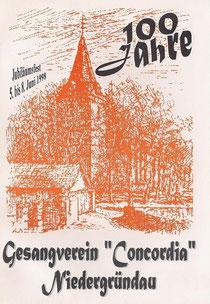 100 Jahre Concordia....eines der  letzten großen Zeltfeste in Niedergründau