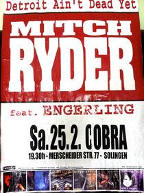 Auf Deutschlandtour: Urgestein Mitch Ryder zu Gast in Solingen