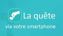 Lien vers l'application pour smartphone