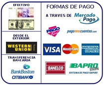 We accept all this payments