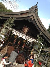 廣島で初詣。