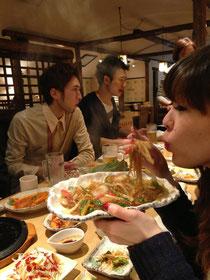 今年の忘年会はたまプラの韓国料理で!