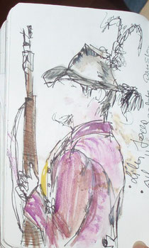 ein Schütze aus dem Paznauner Tal