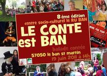 LES GUIGNOLOS se produisent dans le cadre de la 8ème édition du CONTE EST BAN - LES GUIGNOLOS troupe de théâtre jeune public - Spectacle pour enfants et la famille - www.lesguignolos.fr