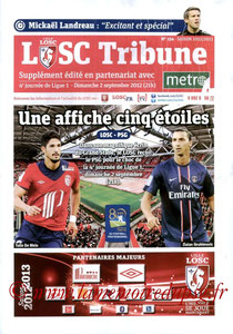 Programme  Lille-PSG  2012-13