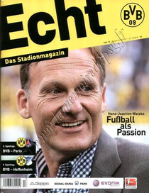2010-10-21  Borussia Dortmund-PSG (3ème poule C3, Programme officiel)