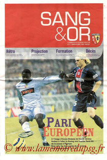 Programme  Lens-PSG  2005-06
