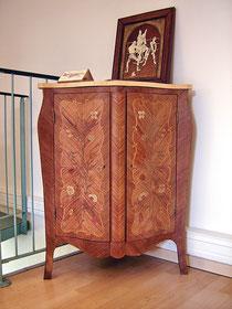 Meuble de Monoury présenté au Musée du bois à Revel