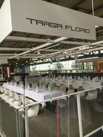 Die Teilnehmer der Firma Wirtschaftsimpuls freuten sich auf das Kocherlebnis im Targa Florio.