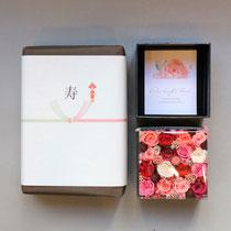 プリザーブドフラワー,結婚式両親贈呈花束