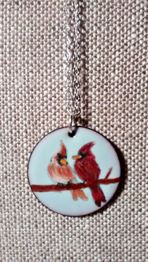 """-----------  """"Lovebirds"""" Cardinals  ----------"""
