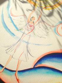 光と闇を抱く朝焼けの女神  ☞作品集