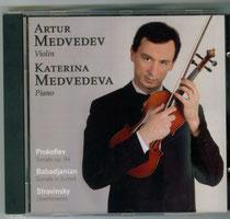 CD  Prokofiev/Babadjanian/Stravinsky