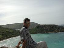 Das war ich 1998 auf Malta
