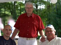 3 Generations of Grüb Plumbers  L - R:  Eric J., Walter Jr., Eric L.