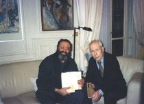 Shimon REUBEN chez Haim ZAFRANI 31 december 2002