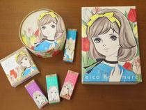 ガールズコスメharukoのパッケージ作製