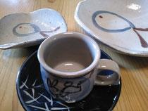 うさぎの皿とカップ&ソーサ