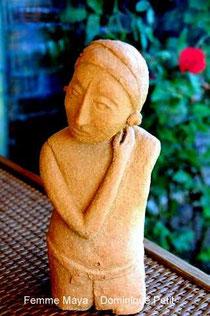 Femme Maya,D.Petit