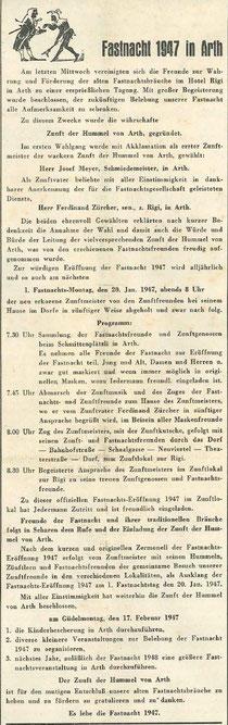 Rigi-Post vom 17. Januar 1947