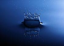 Wasser & Eis, wassertropfen, krone eines wassertropfens, simply picture