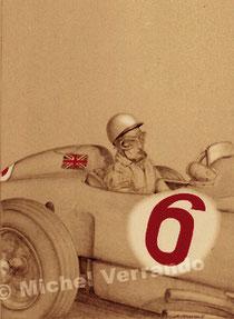Stirling Moss (24x32cm)